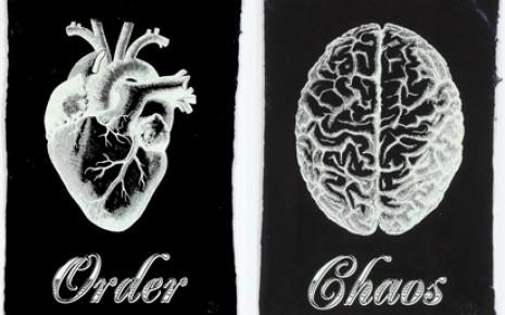 Order Chaos Black Print